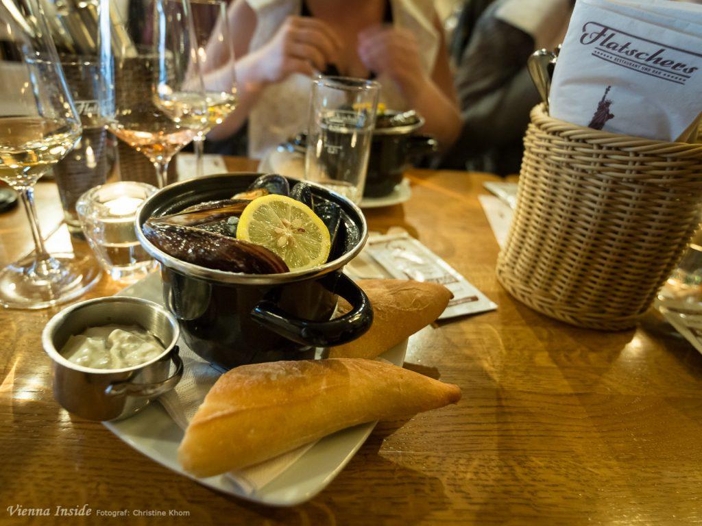 Moules Frites eröffneten unseren Französischen Abend