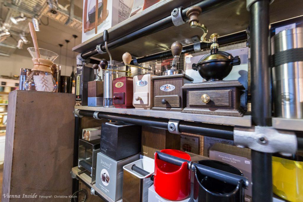 Sogar die gute alte Kaffeemühle aus Omas Zeiten erlebt ein Revival.
