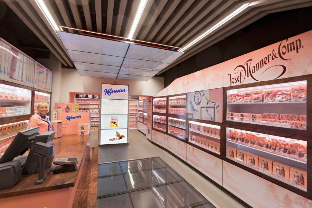Manner Pop Up Store - Mariahilferstrasse