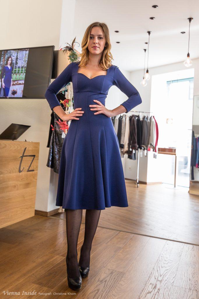 Alltagstaugliche Eleganz mit einem Touch Hollywood, so kann man die Modelle von Irina Hofer beschreiben.