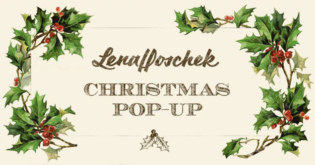 Lena Hoschek Christmas Pop Up Store – Spittelberg