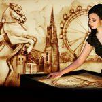 Sandmalerei Shows Wien