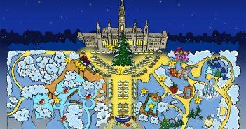 Weihnachtstraum am Wiener Christkindlmarkt Plan
