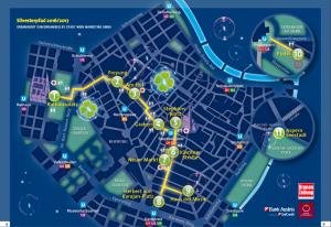 Silvesterpfad Wien Plan