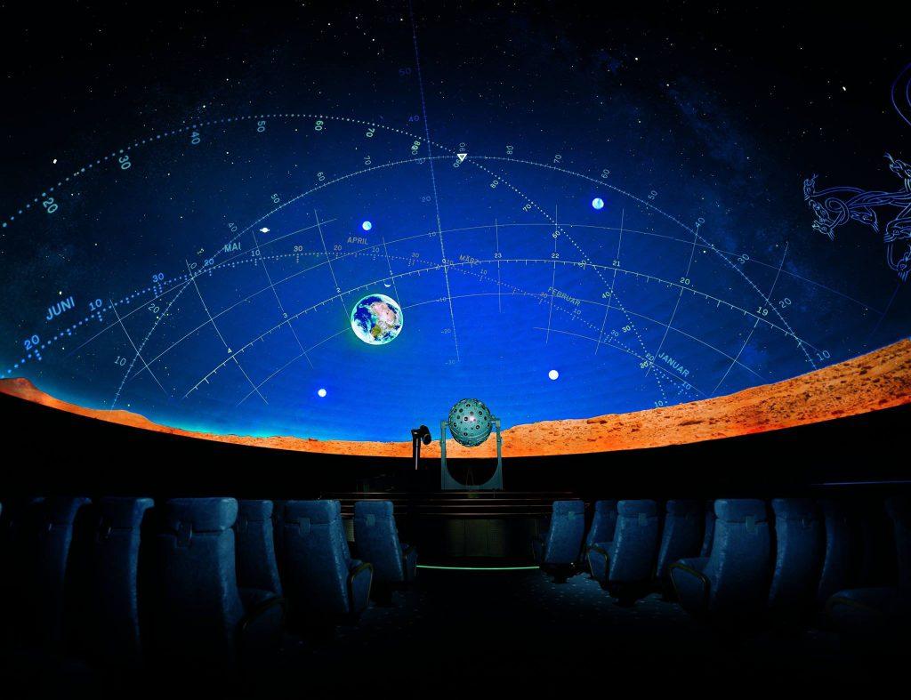 Planetarium Wien Führung Backstage