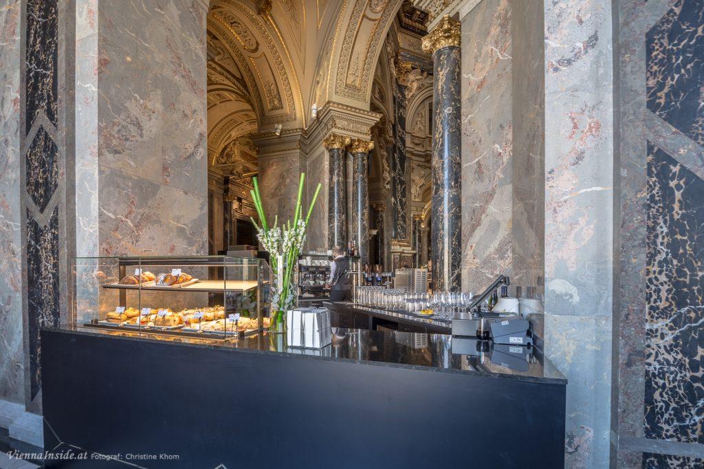 Cafe im Kunsthistorisches Museum