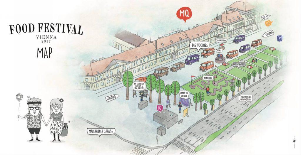 Food Festival Map