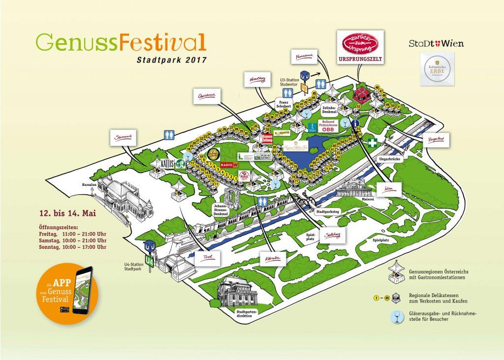 Genuss Festival 201 Besucherplan