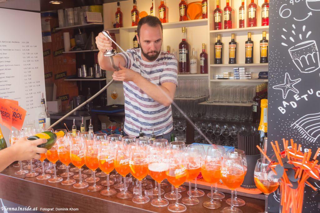 Aperol Bar RIVA Rathausplatz