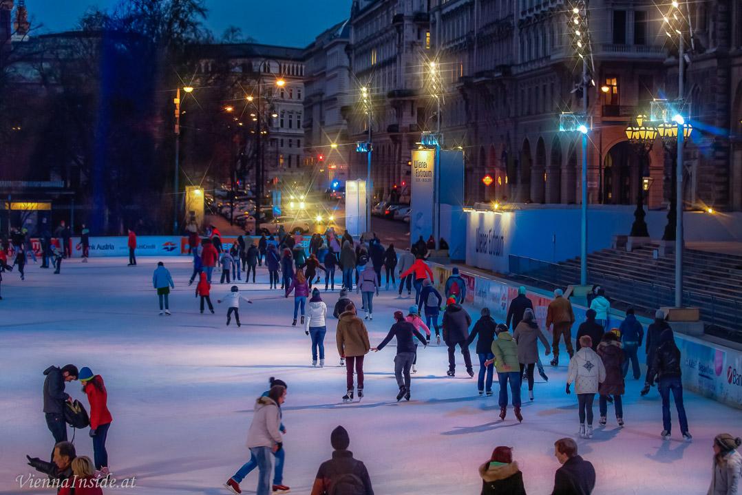 Eislaufen In Wien 2017 2018 Eislaufpl Tze Und