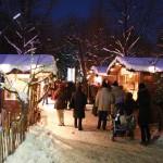 Weihnachtsdorf – altes AKH Universitätscampus