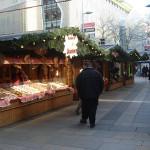Adventmarkt vor der Kirche Mariahilf
