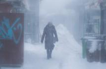 Naschmarkt im Schnee