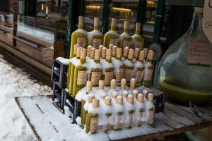 Gegenbauers Olivenöl - gut gekühlt.