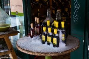 Obwohl der gute Sauvignon sollte eigentlich nicht kalt genossen werden.