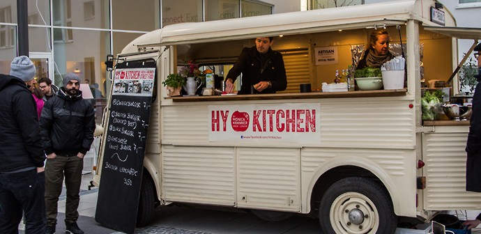Street Food Clubbing in Wien