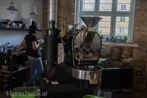 Coffee Roasting bei den CoffeePirates