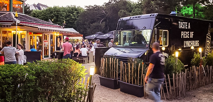Pop-up Bar-Jack Daniel's im Alten AKH