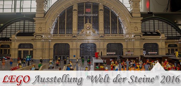 """LEGO Ausstellung """"Welt der Steine"""" 2016"""