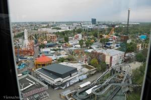 Pop-up-Antiquariatsmesse im Wiener Riesenrad