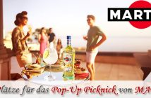 Pop-Up Picknick von MARTINI