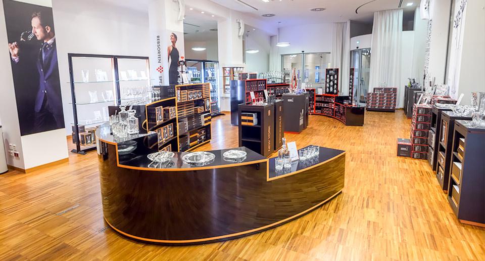 Velsete Riedel Glas - Pop Up Store in Wien - ViennaInside.at IV-69
