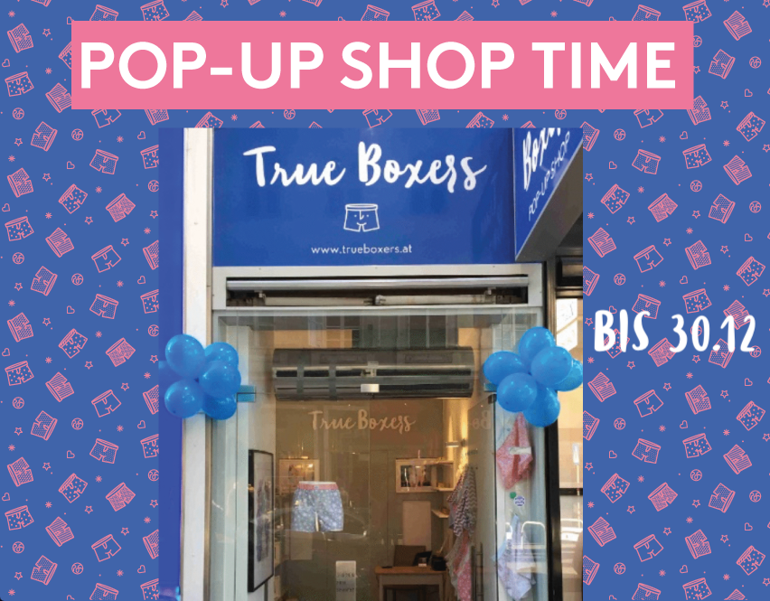 True Boxers Pop Up Store