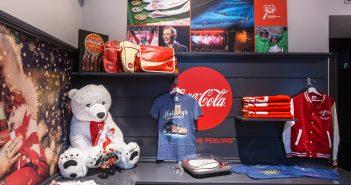 Coca-Cola Xmas Pop Up Store