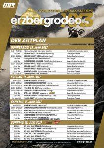 Erzbergrodeo 2017 Programm und Zeitplan