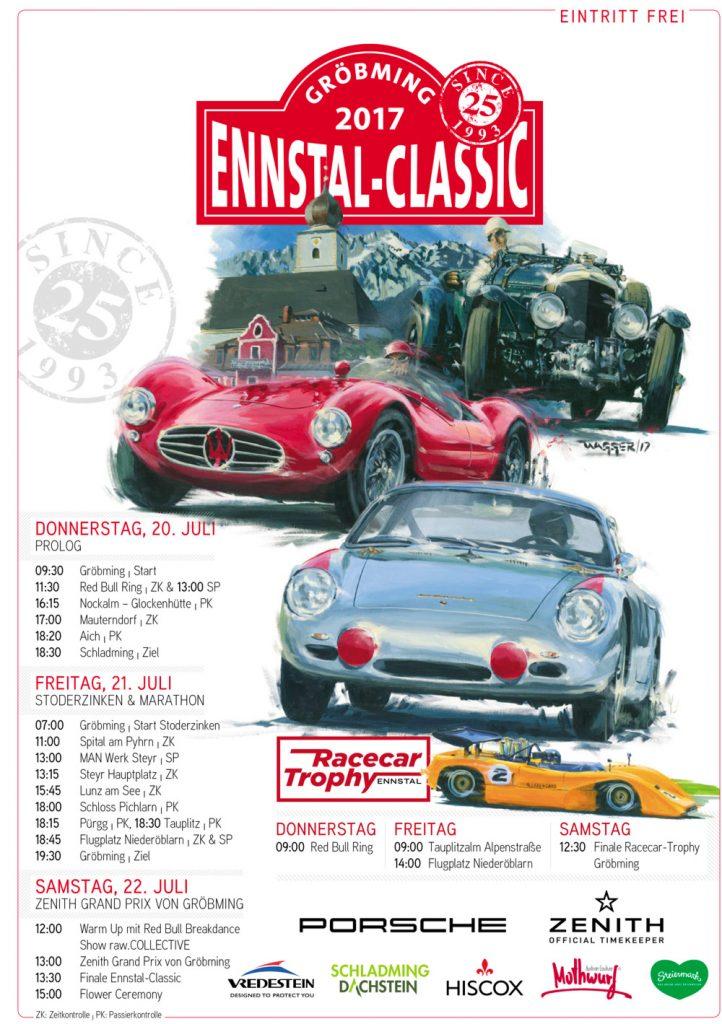 Ennstal Classic Programm