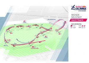 Red Bull Air Race Streckenverlauf - Wiener Neustadt