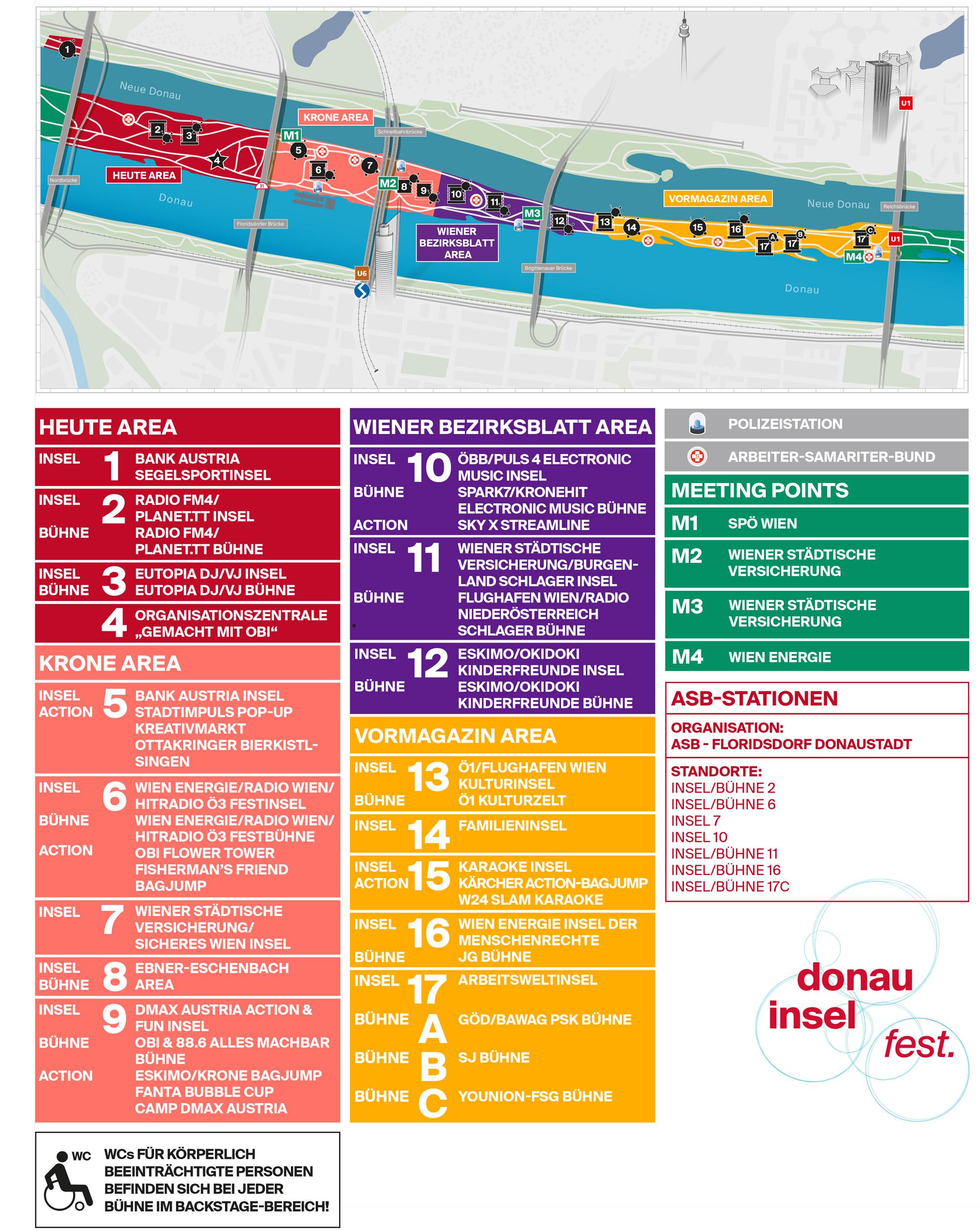 Donauinselfest 2019 Alle Infos Inkl Programm Und Ubersichtsplan Viennainside At