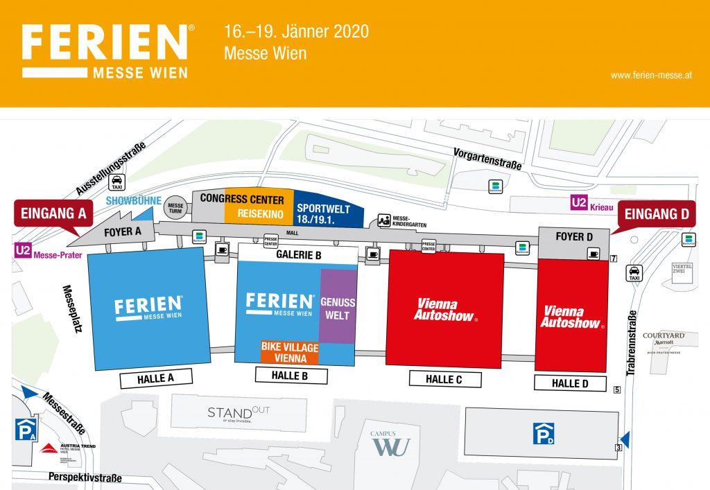 Hallenplan Ferien-Messe 2020