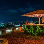 Weihnachtsterrasse Aurora Rooftop Bar © ViennaInside