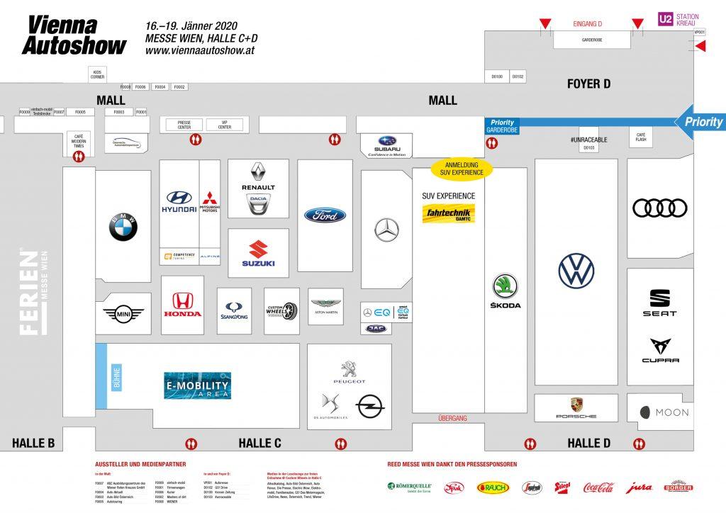 Markenwelt Vienna Autoshow 2020