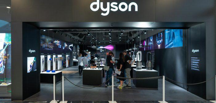Rundgang – Dyson Demo Store in der SCS Vösendorf